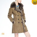 Vintage Shearling Coat for Women CW640230