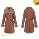 Women Toscana Shearling Coat CW640232
