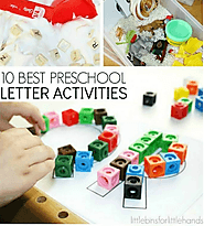 10 Best Preschool Letter Activities