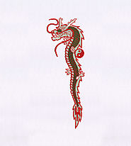 Chinese New Year Dragon Puppet Embroidery Design | EMBMall