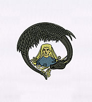 Imaginative Mother of the Dragons Embroidery Design | EMBMall