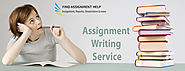 Online Assignment Writing - Find Assignment Help
