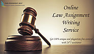 Law Assignment Writing Service