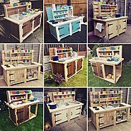 Top 14 Mud Kitchen Ideas for Kids on Sensod - Sensod - Create. Connect. Brand.