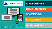 Website Designing Company in Gurgaon: Delta Web Services