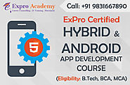 Mobile App Training in Kolkata - Android, iOS & Hybrid