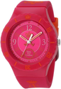 Juicy Couture Women's 1900823 Taylor Hot Pink Jelly Strap Watch