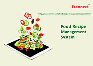 Food Recipe Management System