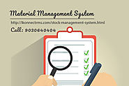 Stock management Software| Material management Software