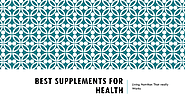 Best Supplements for Health | Radiant Light Nutrition