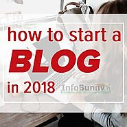 How to start a blog in 2018 - How to start blogging and make money