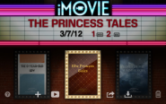 iMovie for iPad 2 and above, iPhone and iPod Touch