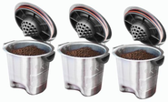 Ekobrew Elite, Stainless Steel Refillable K-Cup For Keurig K-Cup Brewers, 3-Count