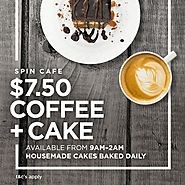 $7.50 Coffee & Cake - The Ville Resort