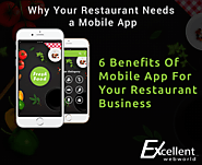 6 Benefits Of Mobile App For Your Restaurant Business – Excellent WebWorld