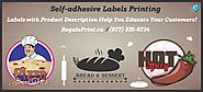 Custom Labels Printing at RegaloPrint
