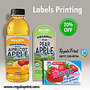 Custom Printing Services for Product Labels is Available at 20% Discounted Rates