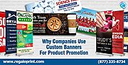 Use Custom Banners For Product Promotion