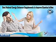 Best Natural Energy Enhancer Supplements to Improve Stamina in Men