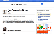 Post-Traumatic Stress Disorder | Psychology Today