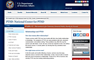 Relationships and PTSD - PTSD: National Center for PTSD
