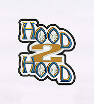 Charming Hood to Hood Embroidery Design | EMBMall