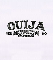 Classic Ouija Board Text Embroidery Design | EMBMall