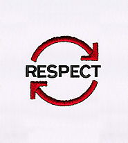 Clever Reciprocating Respect Embroidery Design | EMBMall