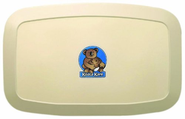 Bobrick KB200-00 Horizontal Baby Changing Station, Cream