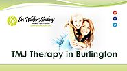 TMJ therapy in Burlington