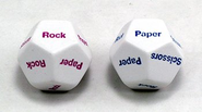 Resolve All Disputes with Rock Paper Scissors Lizard Spock Dice