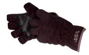 Glacier Glove Windproof Fleece Fingerless Glove