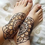 2018 Latest Mehndi Designs For Foots - Sensod - Create. Connect. Brand.
