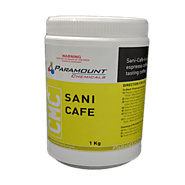 Sani-Cafe' Expresso Machine Cleaner - Paramount Chemicals