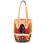 Louis Vuitton Monogram Multicolor Fringe Bucket Bag