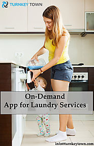 Uber for Laundry and Dry Cleaning App