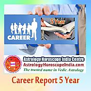 Career Report 5 Year