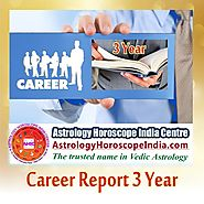 Career Report 3 Year