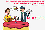 Restaurant order management system| Restaurant Kitchen order Tracking