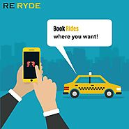 ReRyde the new taxi booking service based out of Vancouver. - InfoMapp.com