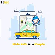 A new and upcoming taxi services in Vancouver. Welcome to ReRyde - beBee Producer