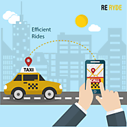 A new and upcoming taxi services in Vancouver. Welcome to ReRyde