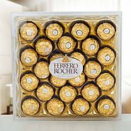 Buy/Send 24 Pcs Ferrero Rocher - YuvaFlowers