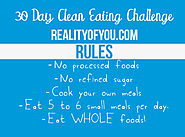30 Day Clean Eating Challenge - Reality of You