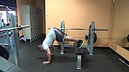 Floor V Press with Bench