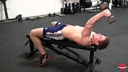 Laying Dumbbell Tricep Extension