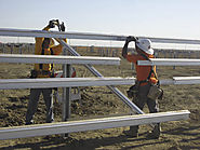 What are the different types of ground-mount solar racking systems?