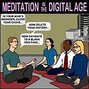 meditation | Social media cartoons | Pinterest | Yoga and Medicine