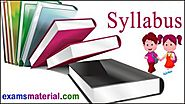 UP Polytechnic Syllabus 2018 JEECUP Exam Pattern A K Group Topics