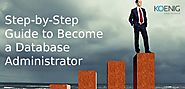 Step-by-Step Guide to Become a Database Administrator